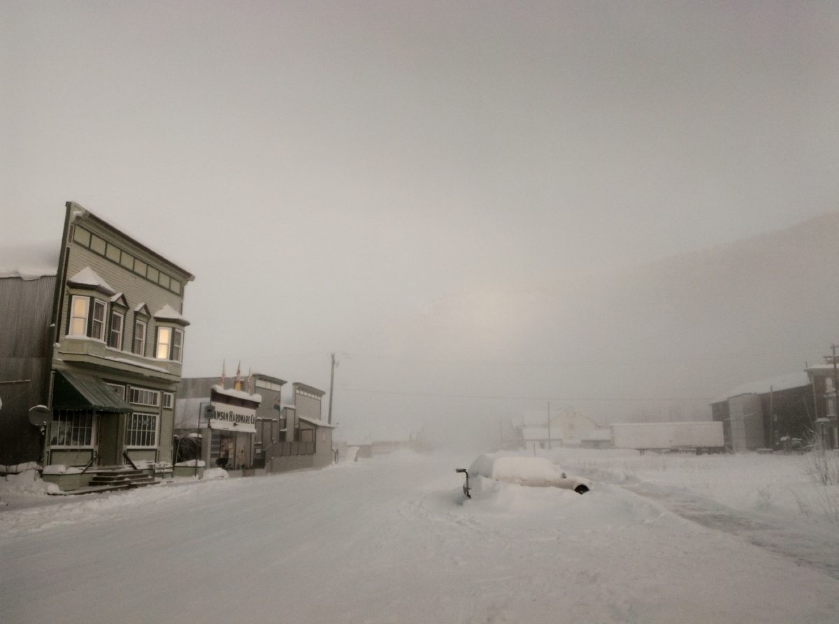 "Yukon Permanent Art Collection 2017, Tourism and Culture, Arts Branch Artist: Jeffrey Langille Title: Second Avenue, Dawson City Year: 2017 Materials: Archival inkjet print Dimensions: 7.5"" x 10"""