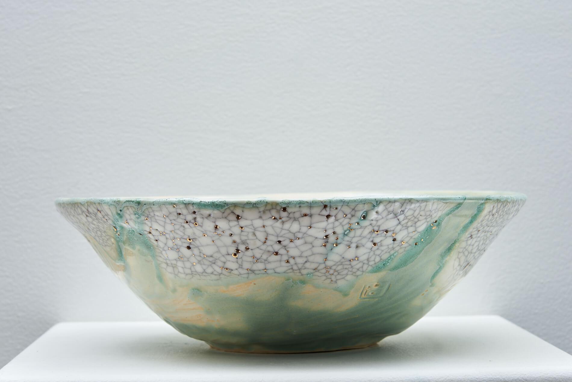 Monika Kate Steputh Stoneware Pottery Bowl