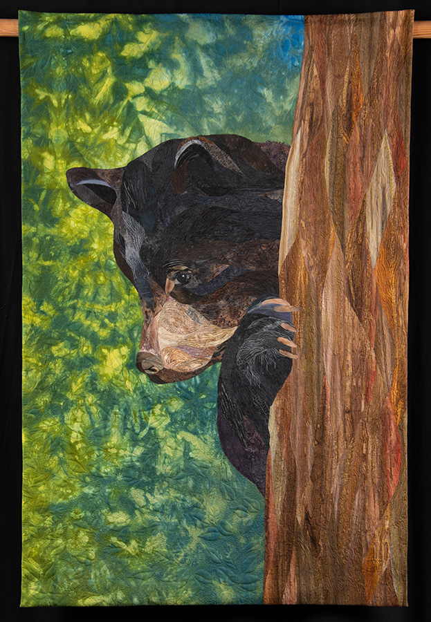 A textile artwork by Yukon artist Joanne Love.