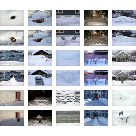 Photo series by Yukon artists Hannah Jickling and Valerie Salez