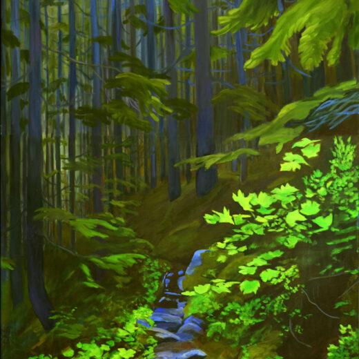 Daphne Mennell Yukon Artist Chilkoot Magic