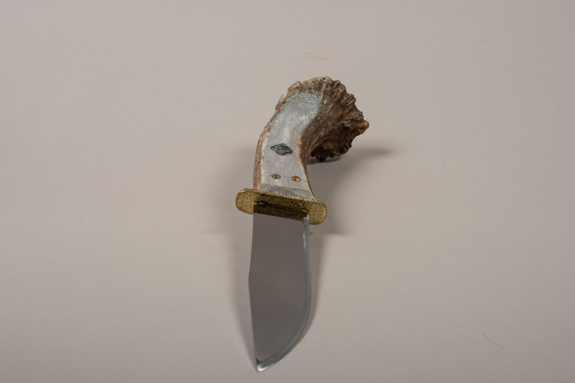Roland Peter Hunting Knife Moose antler